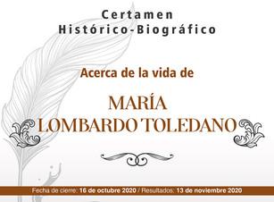 Lanza Secretaría de Cultura certamen sobre hechos histórico-biográficos