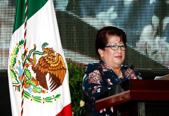 Dolores López de la Cruz, rinde su Primer Informe de Gobierno en Ayotoxco de Guerrero, Puebla