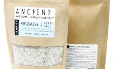 Himalayan Bath Salts : Clarity - Rosemary & Clary Sage