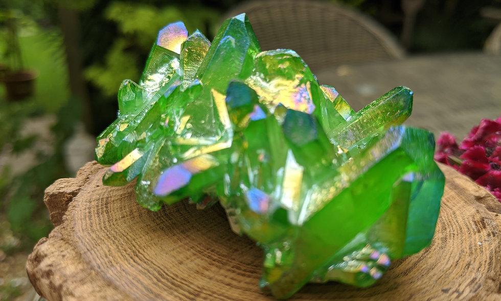 Green Aura Bismouth Cluster
