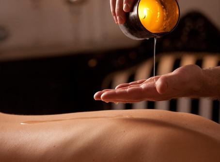 Sacred Moroccan Candle Massage