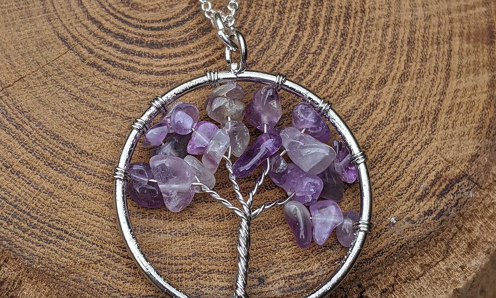 Amethyst Tree of Life