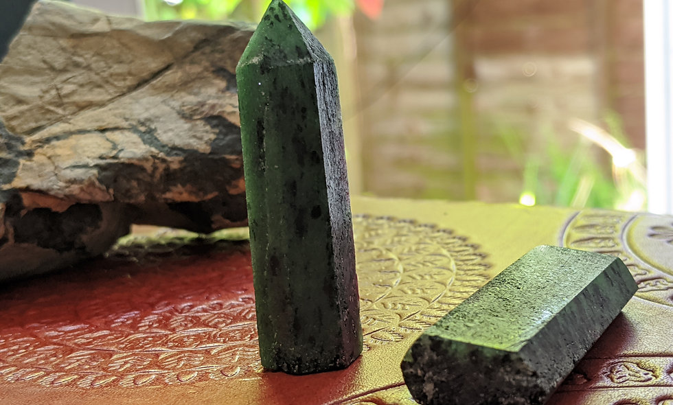 Ruby in Zoisite Points
