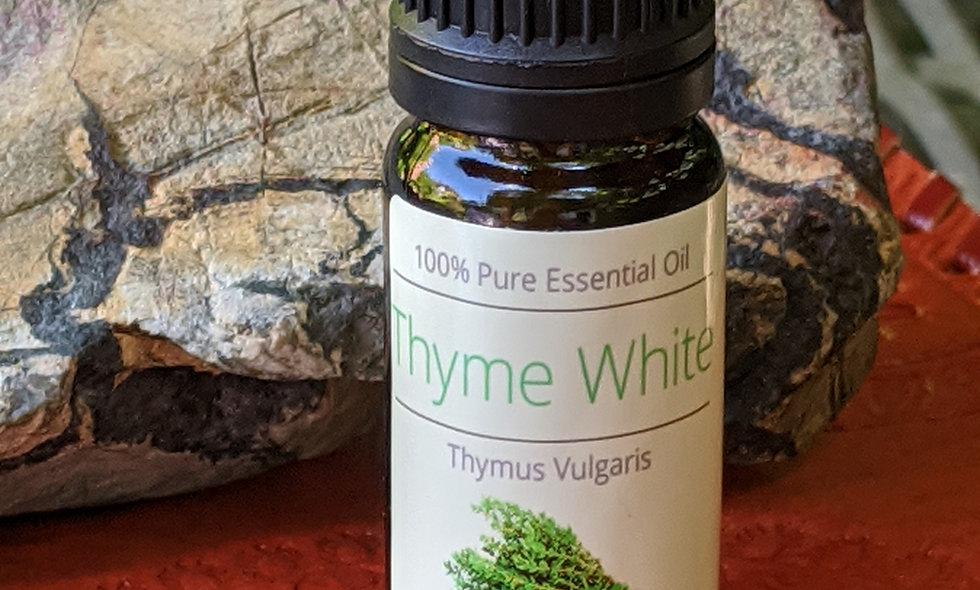 White thyme oil.