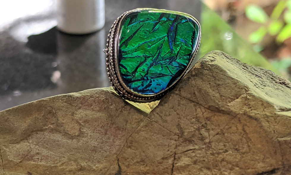 Australian Triple Opal Ring