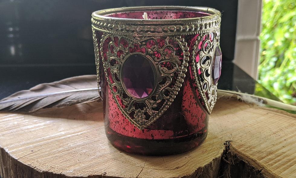 Handmade Candle Ginger Ylang Ylang &Lilly