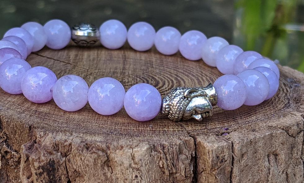 Purple Jade Crystal Bracelet