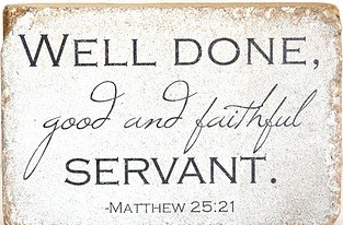 Well Done Faithful Servant (A tribute to CE Jacobs)