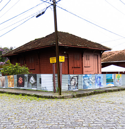 Exposição na Vila