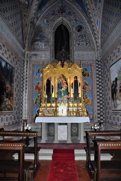 A Small Chapel In A Tuscan Castle