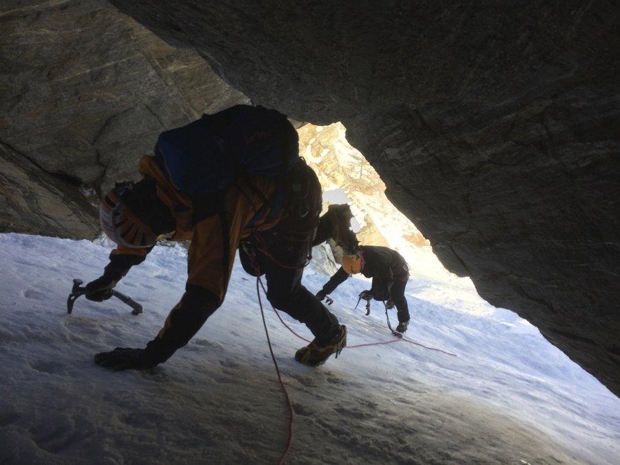 Ice Climbing in Cogne Aosta