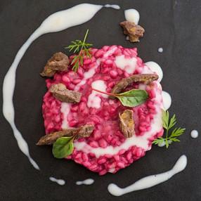 Food Presentation At The Masseria