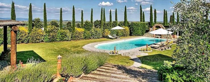 country chic villa