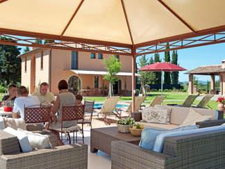 a tuscan villa