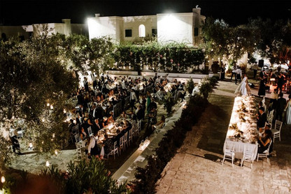 Reception At The Masseria