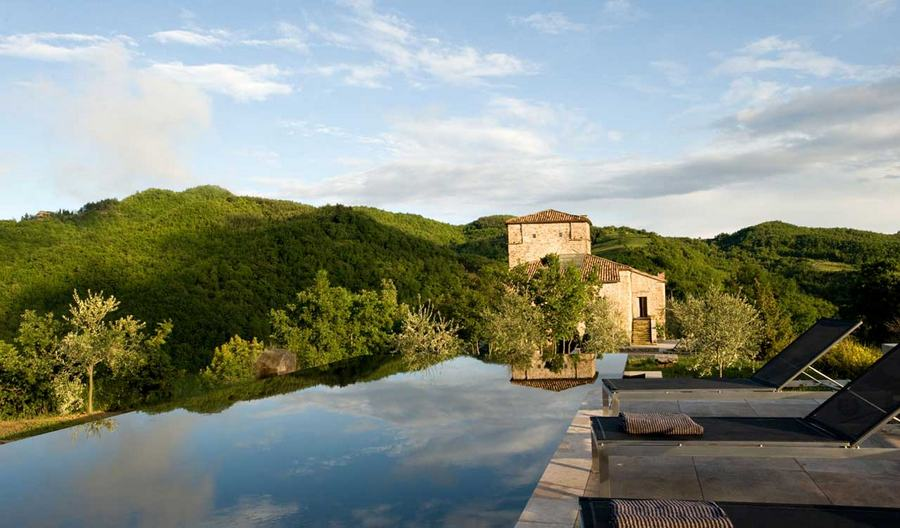 A unique hotel in Umbria