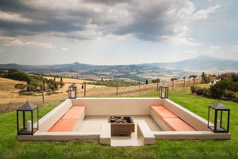 country house pienza