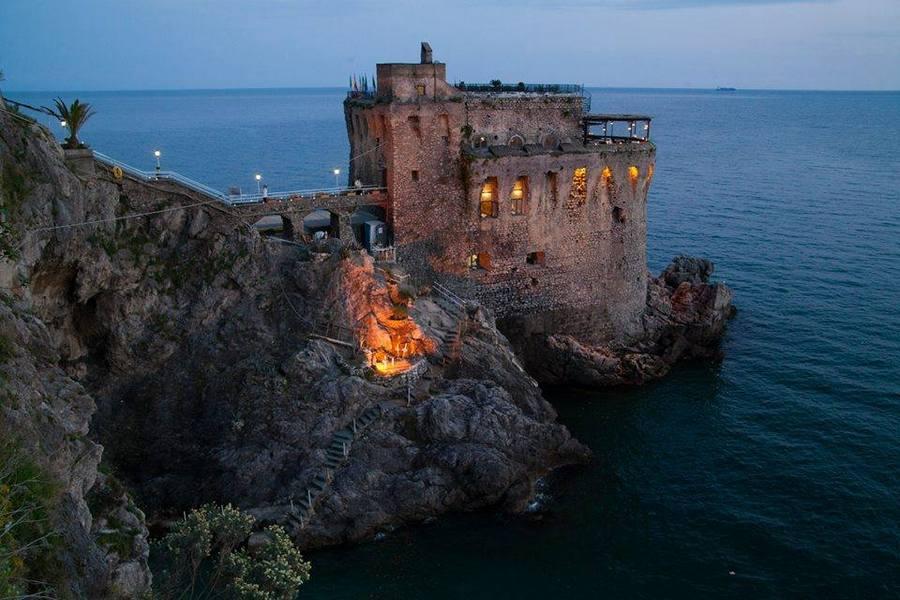 A Saracen Tower The Amalfi Coast