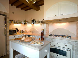 kitchen tuscany villa