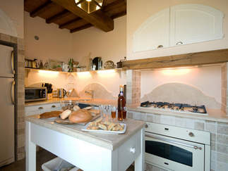 kitchen tuscany villa