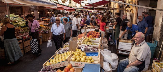 From the Markets of Siracusa