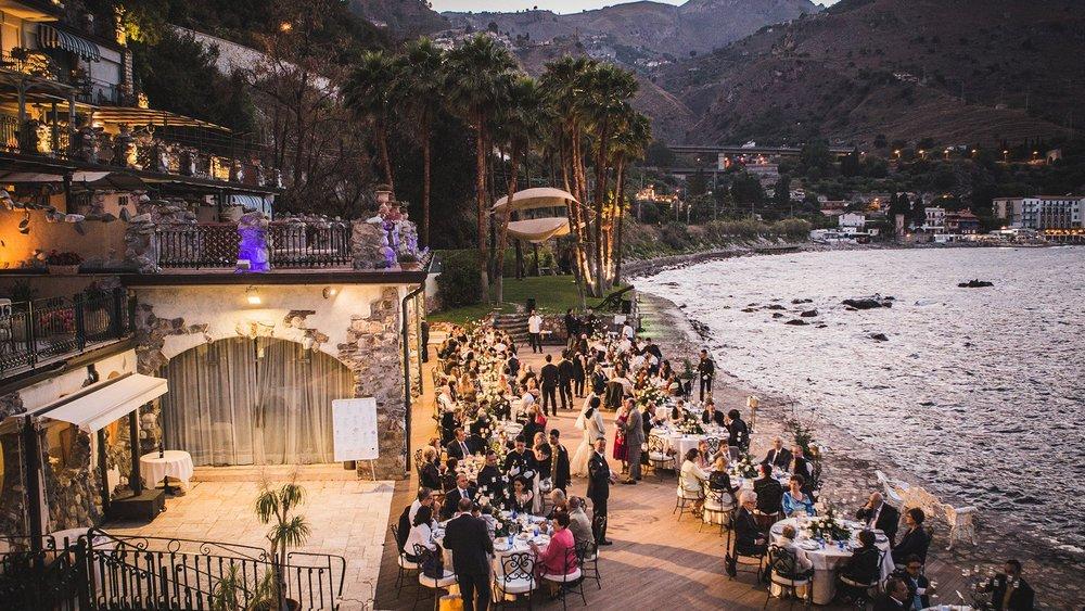 Beach Reception Taormina