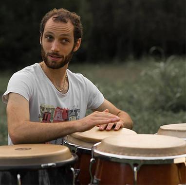 Percussion...