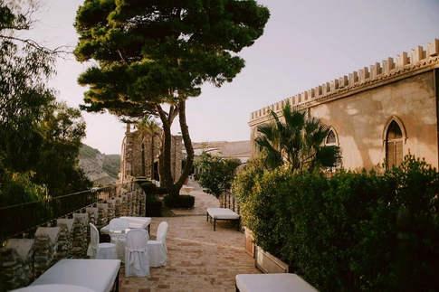 agrigento castle wedding