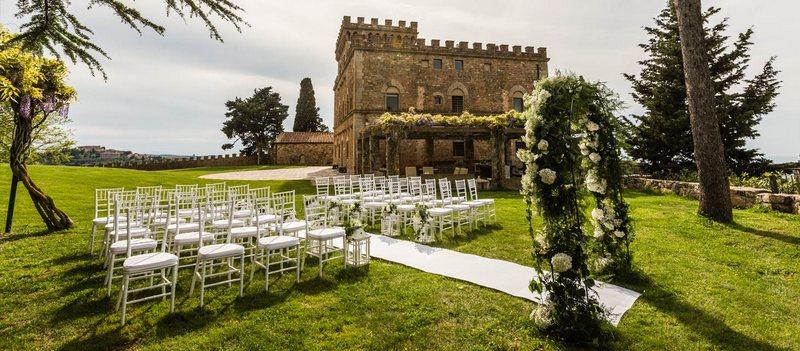 A Tuscan Castle