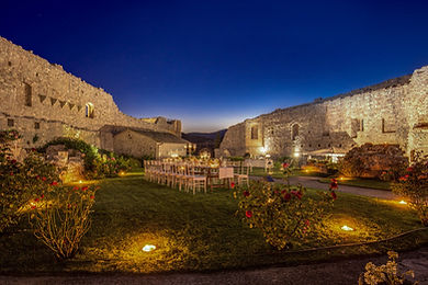 Historical castle Umbria