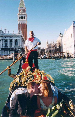A Wedding Gondola