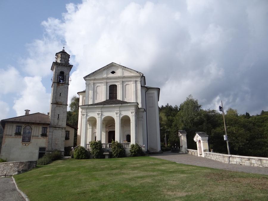 Church on Lake Orta