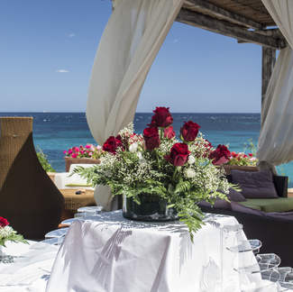 A beach wedding sardinia