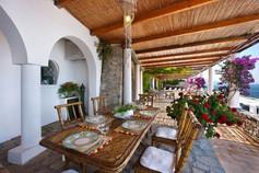 Self catering villa sea italy