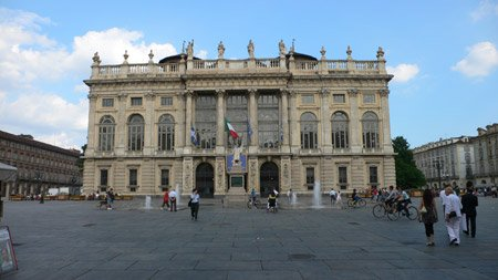 A Palazzo In Turin