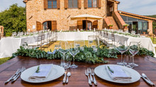 A rustic wedding in southern Tuscany
