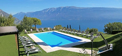 Panoramically Placed On Lake Garda