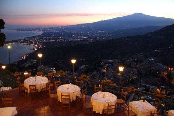 Outside Taormina