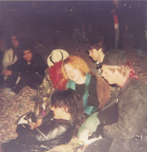 A DRUNKEN BUNCH OF PUNKS- BRIGHTON BEACH 1980'S- GAIL, FIONA, NIGEL AND STEVE jpeg.jpg