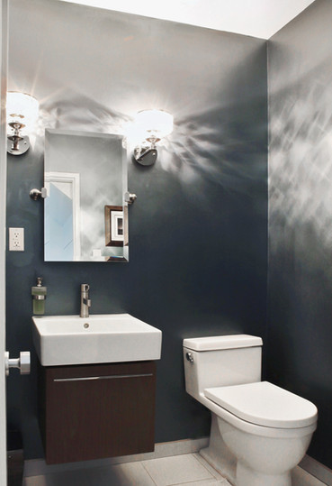 Powder Room renovation design - Dallas, TX