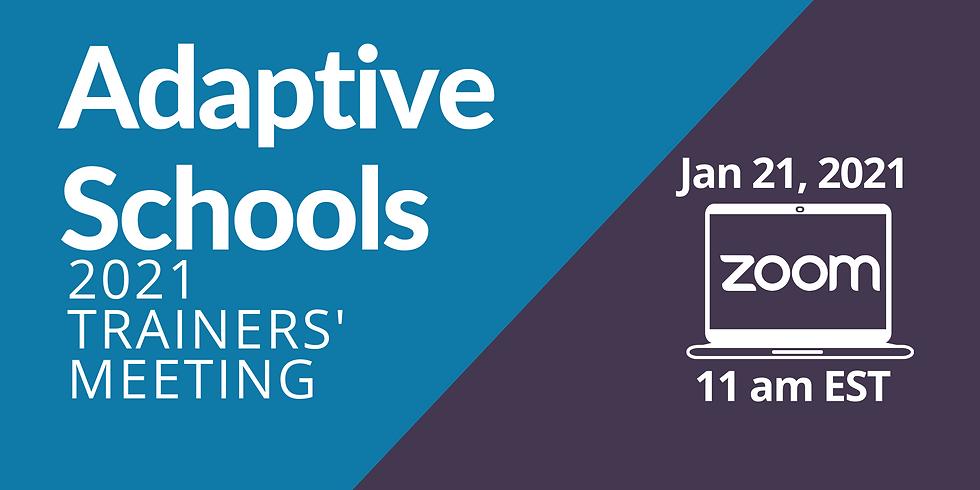 Adaptive Schools Trainers' Meeting