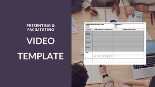 Presenting Video Template