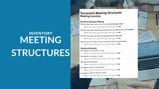 AS Meeting Structure Inventory
