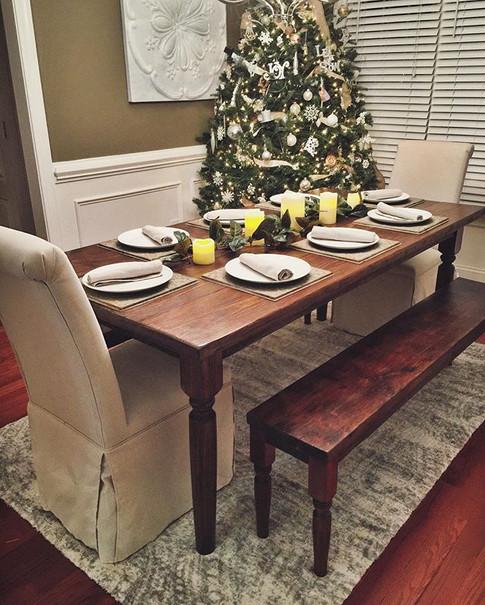 Handbuilt Farm Table Set