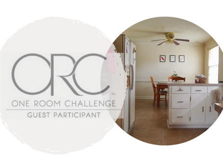 'One Room Challenge' Spring 2021- Week 1, The Before