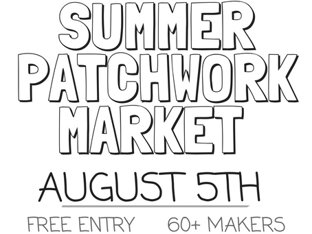 Your Complete 5 Step Guide To Shopping Patchwork Market This Weekend