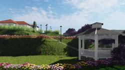 Landscape 3D model