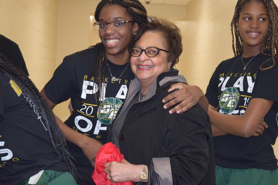 mayor Desoto girls basketball statebound