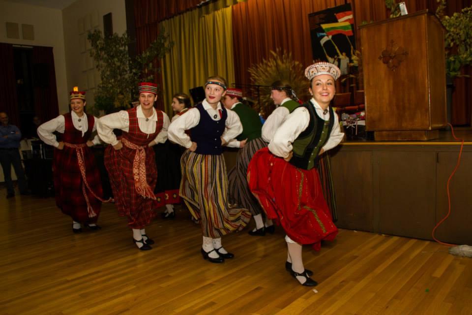 Latvian Folk Dancers