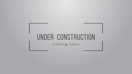 Under Consruction Sign